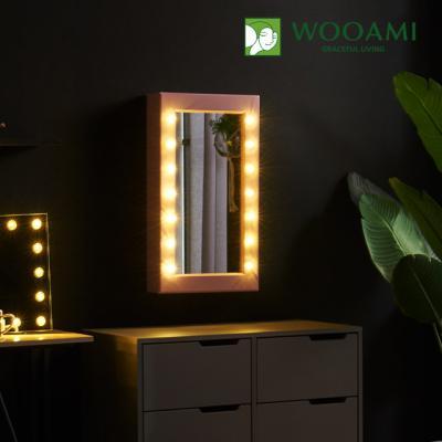 [우아미] 퍼블릭 LED 수납형 거울