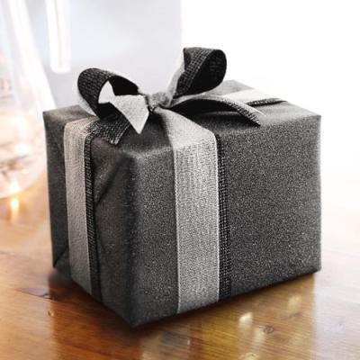 샤이니 딥그레이 포장지 (1장)