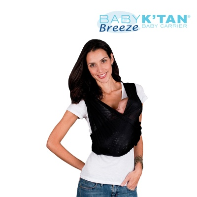 BABYKTAN 블랙 브리즈 메쉬타입 캥거루 캐어 신생아 아기띠 연령/기호에 따라 6종 포지션 착용