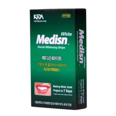 셀프 치아미백패치 7days 메디슨화이트 붙이는미백제