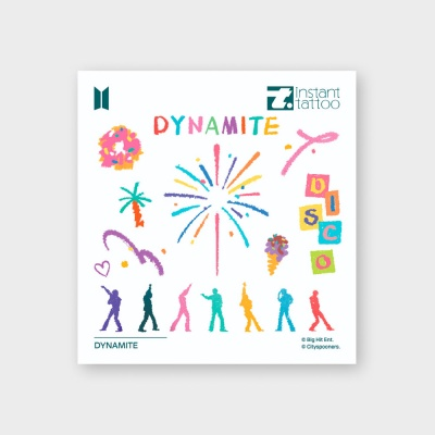 BTS Music Theme Dynamite 방탄소년단 다이너마이트