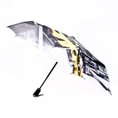 뉴욕 옐로우캡 3단 자동우산