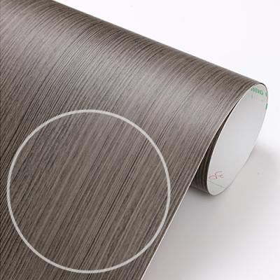 fp152-코코아브라운스크레치 무늬목 필름지 _인테리어필름