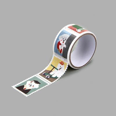 마스킹테이프 : stamp - 24 Bichon