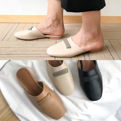 [애슬릿]발 편한 스퀘어 여성 블로퍼 1.5cm