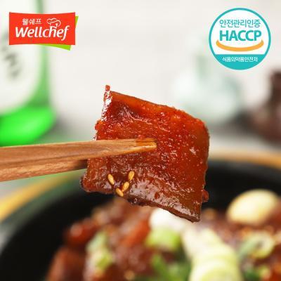 한양 매운양념돼지껍데기 200g/술안주/캠핑푸드