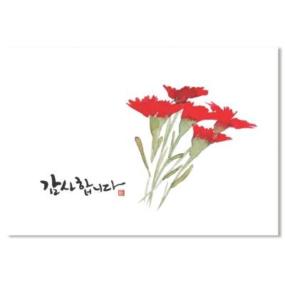 홀마크 감사 카드(카네이션)-KED1559