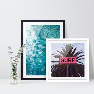 여름 바다 해변 풍경 포스터 vol.1_SB05(서프야자수)