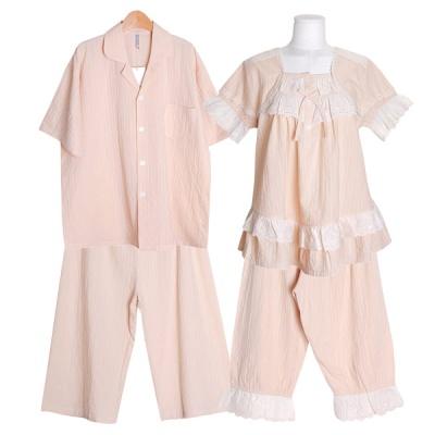 [쿠비카]로맨틱 줄기 레이스 투피스 커플잠옷 WM336