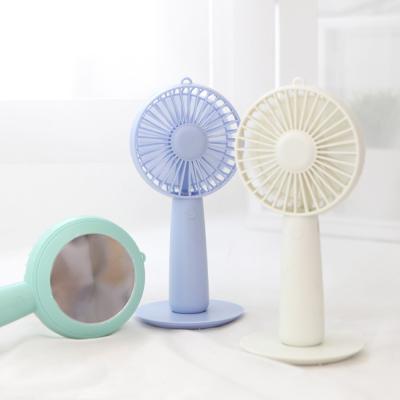 마그네틱 미러 휴대용 미니 선풍기/탁상거치가능