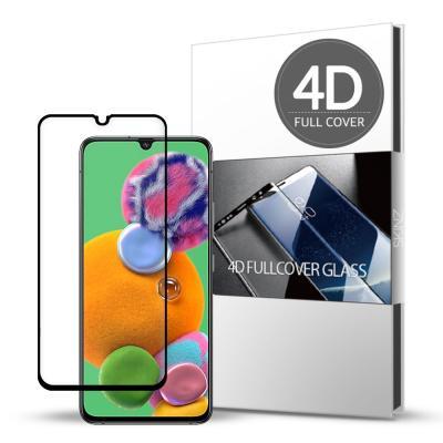 스킨즈 갤럭시A90 5G 4D 풀커버 강화유리 필름 (1장)