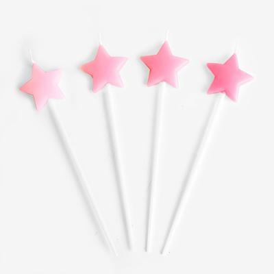 핑크 스타 캔들 (1set)