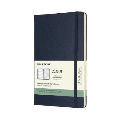 몰스킨 2021위클리(18M)/사파이어블루 하드 L