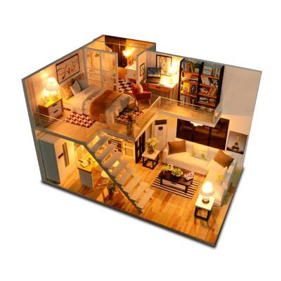 DIY 미니어처 하우스 - 럭셔리 복층