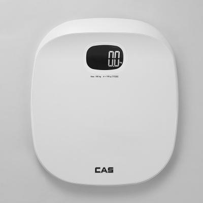 카스(CAS) 퓨어화이트 디지털 체중계 HE-500