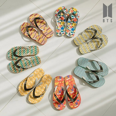 [BTS 공식라이센스] BTS IDOL FlipFlops 004