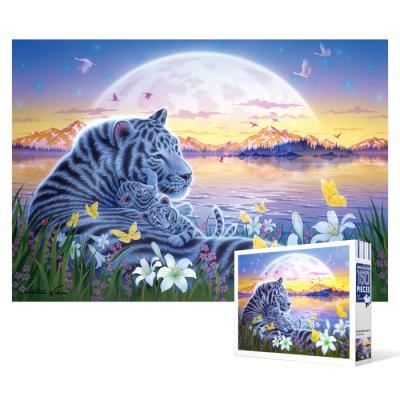 150피스 직소퍼즐 - 백호 평화의 낙원