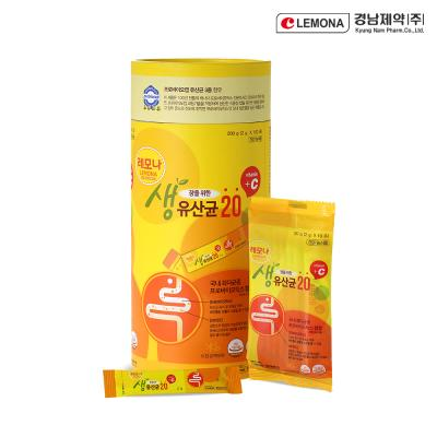 [경남제약] 레모나 생 유산균20C (2g x 100포)