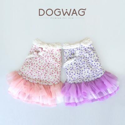[도그웨그 DOGWAG] 강아지&고양이 잔잔한 꽃무늬 생활한복