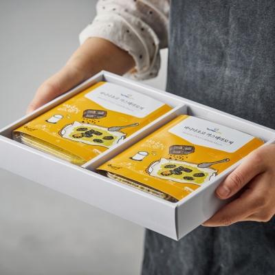 시루아네 바나나초코 카스테라 모찌세트(300g, 2팩)