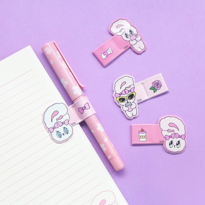 에스더버니 핑크 펜 홀더(랜덤배송)