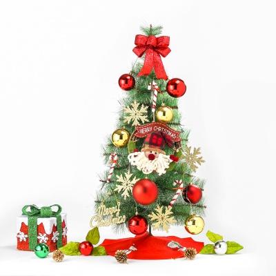 90cm 헬로우 산타 눈꽃 솔잎트리 풀세트