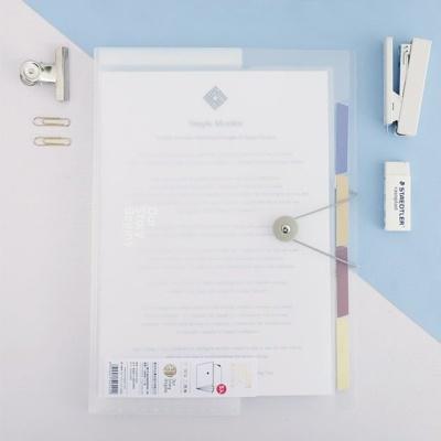사무실 학교 학원 서류정리 A4 클리어파일 5포켓 CF10