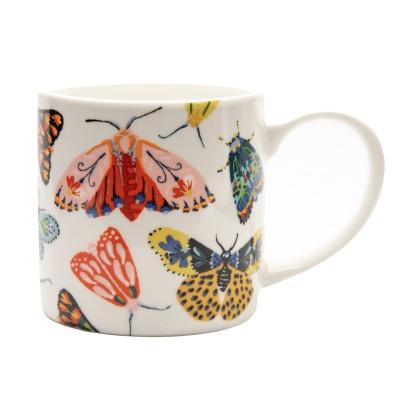 나비 머그 컵