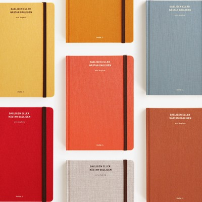 Bookcloth Diary (S) - Daily