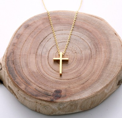 YL-SL cross necklace (NTS002A )
