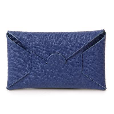 [매니퀸] 홀딩레더 카드/명함지갑 - 튜린타이가 블루