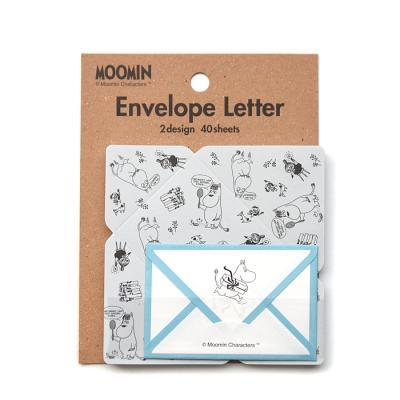 무민 봉투 편지지