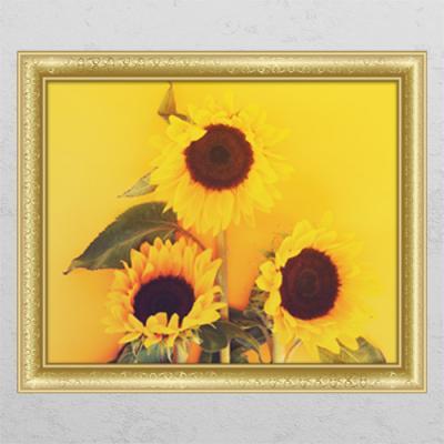 tl095-재물의노란빛해바라기2_창문그림액자