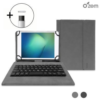 오젬 레노버탭4 8플러스 태블릿 북커버 키보드 케이스