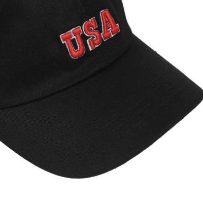 남자 여자 볼캡 야구모자 캡모자 모자 USA 자수