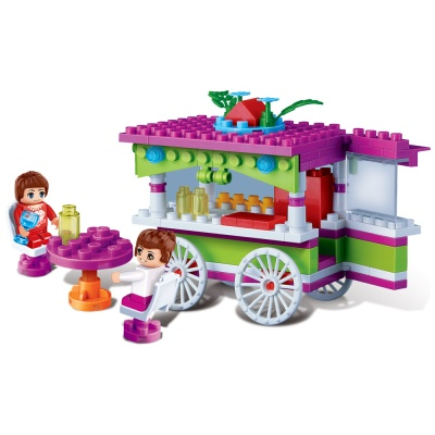 [3D퍼즐마을][반바오] BO6118 스트리트 카페