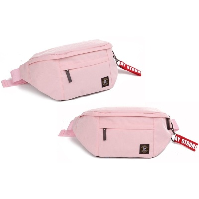 핑크 트렌디한 남녀 공용 힙색 좋은 아이템 복대