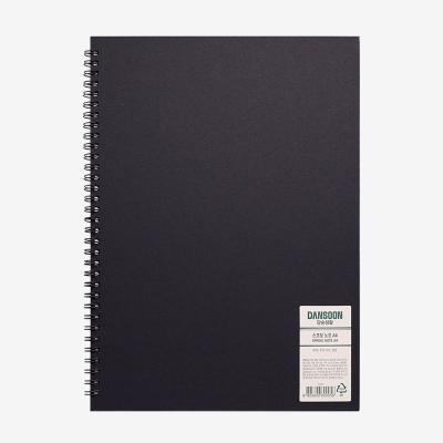 단순생활 스프링노트 A4 블랙