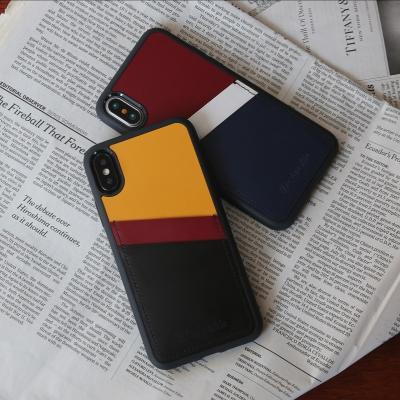 디자인스킨 아이폰XS/맥스/XR/8/플러스 투포켓 케이스
