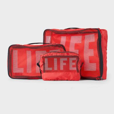 LIFExR PACKABLE POUCH 506 SET_LIFE RED