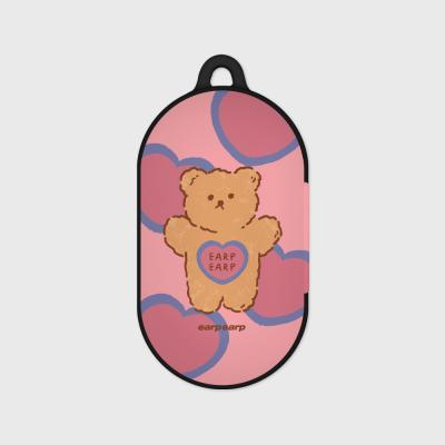 Fancy kid-pink(Buds hard case)
