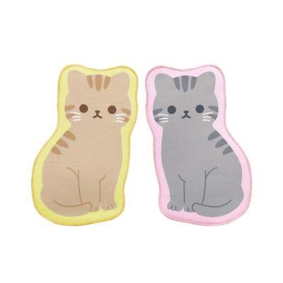 메이호 고양이 물빠짐매트 (2컬러)