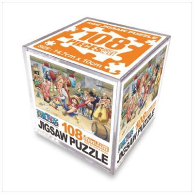 원피스 직소퍼즐 미니 Cube 108pcs: 파티타임
