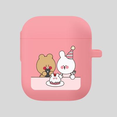 Air 퉁숙이 생일파티 핑크,에어팟케이스