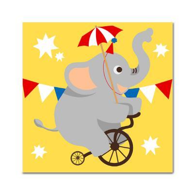 DIY 페인팅 - 서커스 코끼리 PAD04 (25x25)
