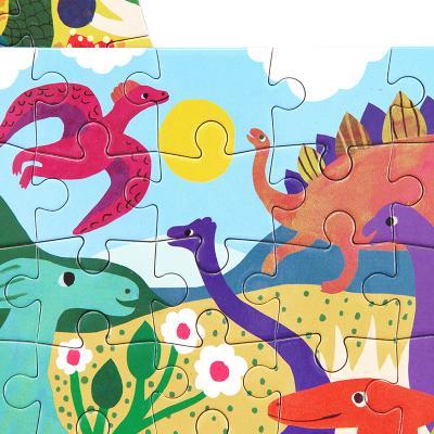 공룡공원 36피스 미니퍼즐