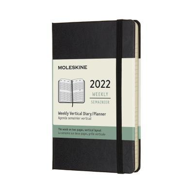 [몰스킨]2022위클리(세로형)/블랙 하드 P