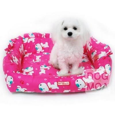 퍼피하우스 강아지 방석 침대 쿠션 매트 하우스 핑크