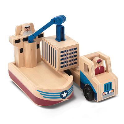 화물선과 트럭 세트