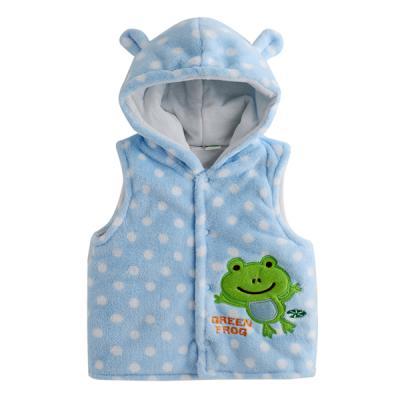 개구리 캐릭터 유아 조끼(6-12개월) 202408